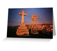 Remembrance at Sunset Greeting Card