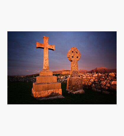 Remembrance at Sunset Photographic Print