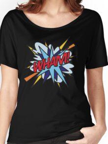 Comic Book WHAM! Women's Relaxed Fit T-Shirt