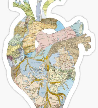 A Traveler's Heart (N.T.) Sticker