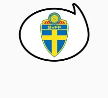 Sweden Soccer / Football Fan Shirt / Sticker Womens Fitted T-Shirt
