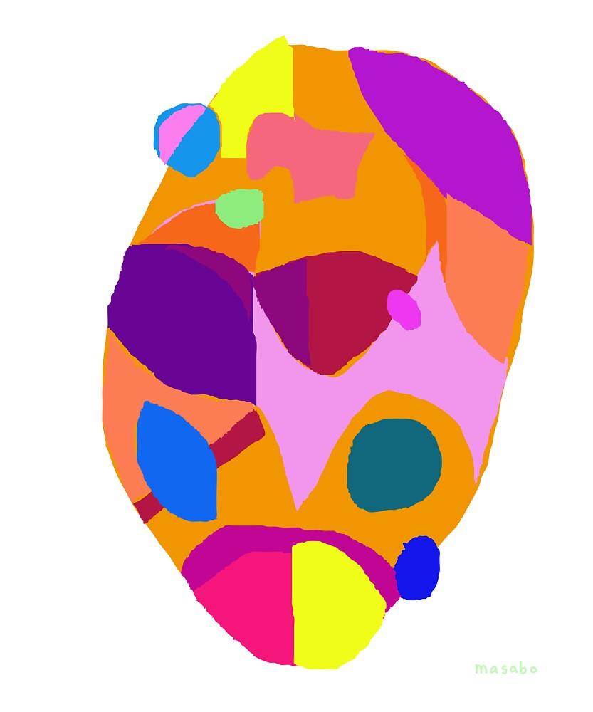Orange Egg by masabo