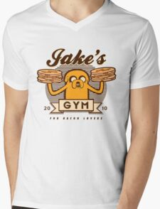 Bacon lovers gym Mens V-Neck T-Shirt