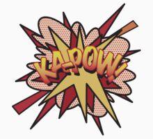 Comic Book KA-POW! Kids Tee