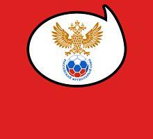 Russia Soccer / Football Fan Shirt / Sticker Womens Fitted T-Shirt