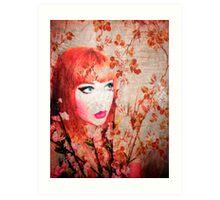Princess Peach II Art Print