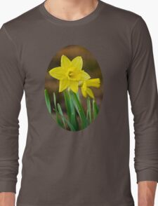 Beautiful Daffodils Long Sleeve T-Shirt