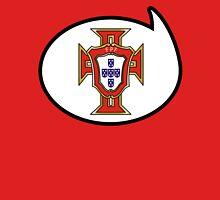 Portugal Soccer / Football Fan Shirt / Sticker Womens Fitted T-Shirt