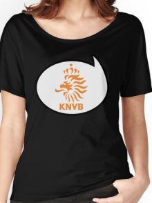 Netherlands / Holland Soccer / Football Fan Shirt / Sticker Women's Relaxed Fit T-Shirt