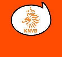 Netherlands / Holland Soccer / Football Fan Shirt / Sticker Womens Fitted T-Shirt
