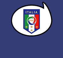 Italy Soccer / Football Fan Shirt / Sticker Womens Fitted T-Shirt