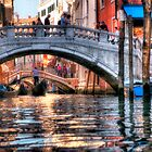 Rush Hour in Venice by Bruce Taylor