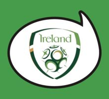 Ireland Soccer / Football Fan Shirt / Sticker by funaticsport
