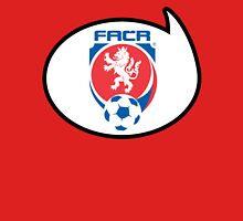 Czech Republic Soccer / Football Fan Shirt / Sticker Womens Fitted T-Shirt
