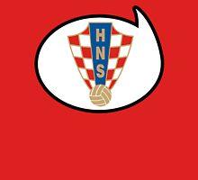 Croatia Soccer / Football Fan Shirt / Sticker Womens Fitted T-Shirt