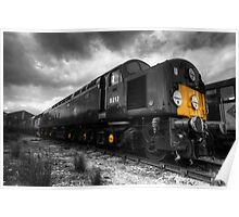 The BR class 40 (mono) Poster