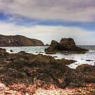 Rocks at St Abbs by Tom Gomez