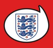 England Soccer / Football Fan Shirt / Sticker by funaticsport