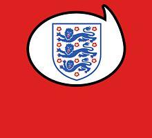 England Soccer / Football Fan Shirt / Sticker Womens Fitted T-Shirt