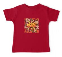 Comic Book POW! Baby Tee