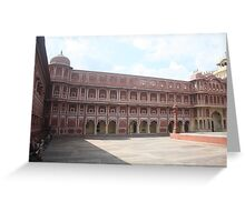Jaipur City Palace Greeting Card