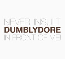 Dumblydore Kids Clothes