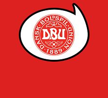Denmark Soccer / Football Fan Shirt / Sticker Womens Fitted T-Shirt