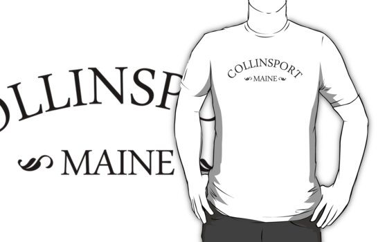 Collinsport, Maine by waywardtees