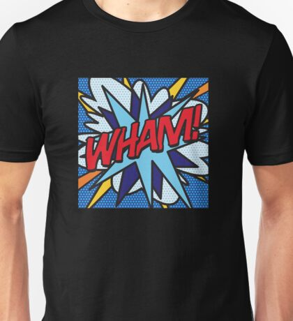 Comic Book WHAM! Unisex T-Shirt