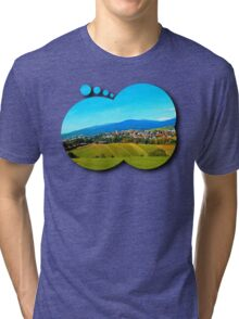 Unsettled geography Tri-blend T-Shirt