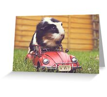 Driving  Greeting Card