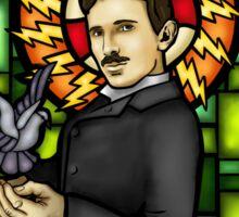 Tesla: The Electric Jesus Sticker
