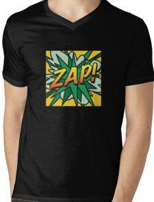 Comic Book ZAP! Mens V-Neck T-Shirt