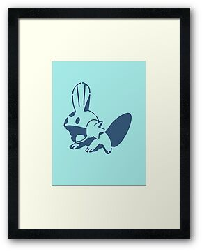 Mudkip Stencil by Earth-Gnome