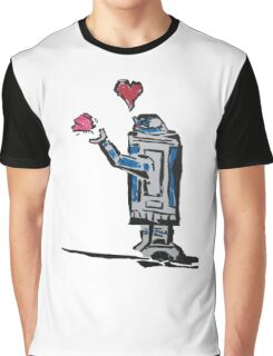 Droid love Graphic T-Shirt