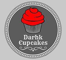 Darhk Cupcakes by FangirlFuel
