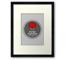 Darhk Cupcakes Framed Print