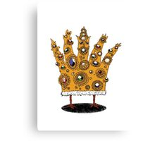 King of What, Queen of Bling Canvas Print