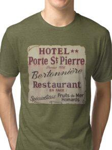 French Hotel Tri-blend T-Shirt