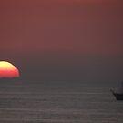 Sun And Galleon - Sol Y Galeón by Bernhard Matejka