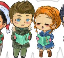 The Lil' Caroling Pack Sticker