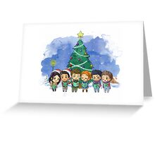 The Lil' Caroling Pack Greeting Card