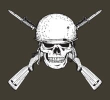WW II M1 Carbine Jolly Roger T-Shirt