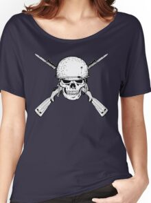 WW II M1 Carbine Jolly Roger Women's Relaxed Fit T-Shirt