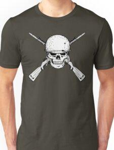 WW II M1 Carbine Jolly Roger Unisex T-Shirt