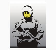 Smiley Face Policeman by LondonFreshTees