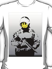 Smiley Face Policeman T-Shirt