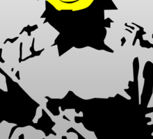 Smiley Face Policeman Sticker