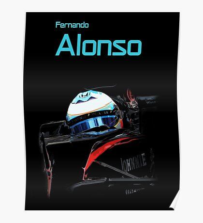 Fernando Alonso 2015 Poster