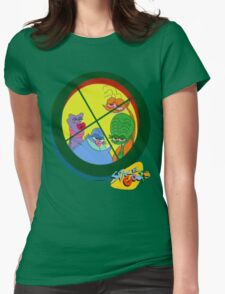Space Goofs Womens Fitted T-Shirt